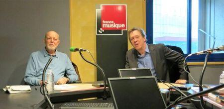 Benoît Duteurtre, Étonnez-moi Benoît, France Musique, Jean-François Kahn & Benoît Duteurtre , studio 132, 07 janvier 2017, photo de Annick Haumier-2