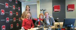 Martin Pénet, Clémentine Jouffroy, Marie-Thérèse Orain et Benoît Duteurtre, 18 avril 2015