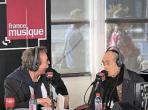 Benoît Duteurtre, Étonnez-moi Benoît, France Musique, Michel Legrand et Benoît Duteurtre, 06 octobre 2018, photo de Annick Haumier