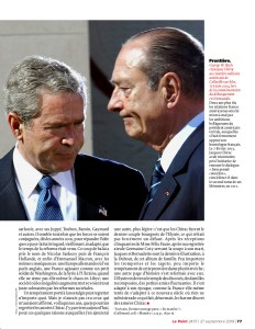 Chirac par Benoît Duteurtre - Le Point n°2457 - 27 septembre 2019 - 2/2