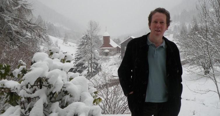 Benoît Duteurtre au Valtin en hiver