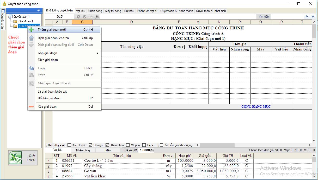 phần mềm quyết toán Eta