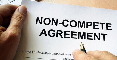 Non-compete clause contract