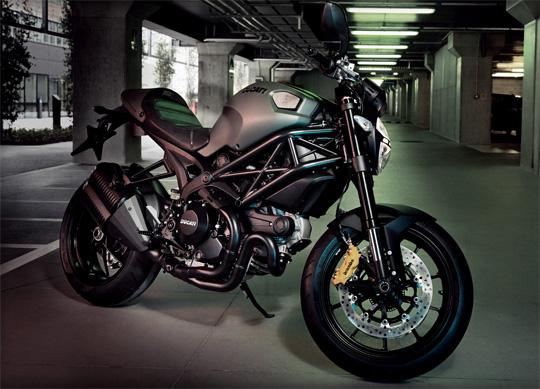 Diesel x Ducati Monster Motorcycle