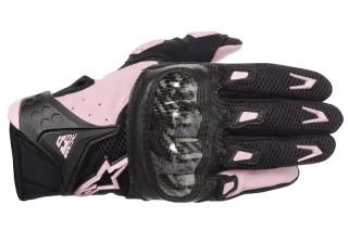 Guantes Alpinestar Stella SMX-2 Air Carbon Pink