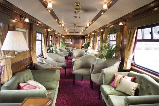 El Royal Scotsman, el tren de lujo de Escocia