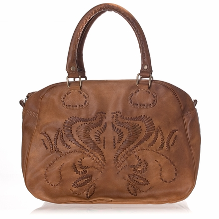 Ruth Handbag Natural Leather - U$S575