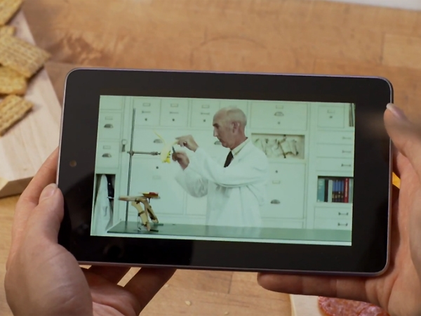 La Nexus 7 de Google tendrá pantalla de 7'' con una resolución de 1280x800 y un peso de apenas 340 gramos.