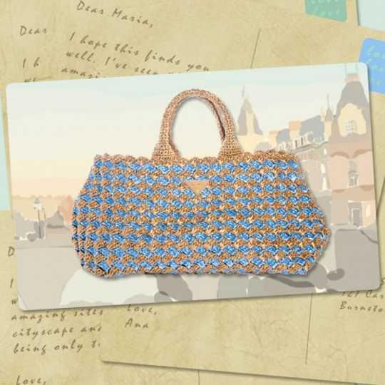 Coleccion bolzo cartera 2012 Le Voyageur, alta costura en Prada