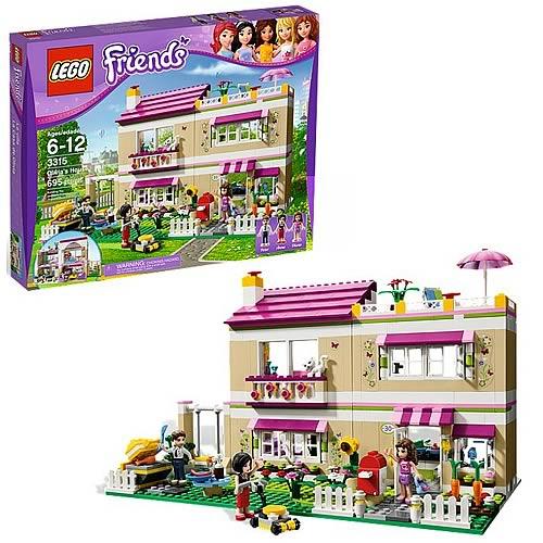 LEGO Friends 3315 Olivia's House - Su precio $70 dólares
