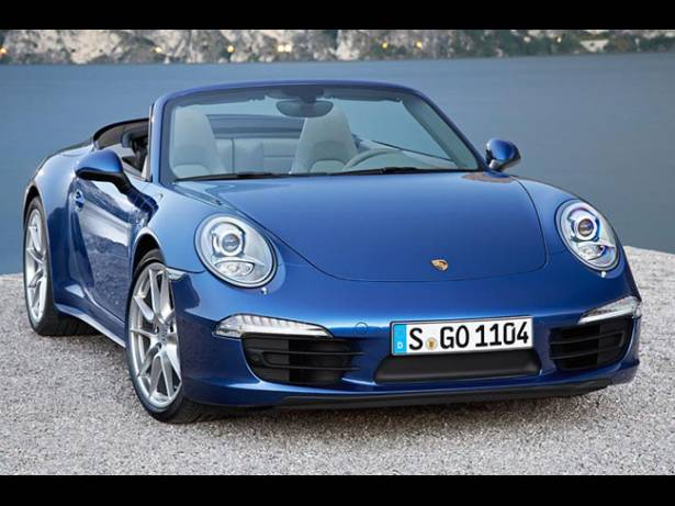 Porsche 911 Carrera 4 2013 cabriolet