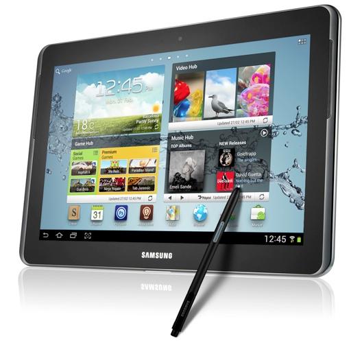 Samsung Galaxy Tab 2 y Samsung Galaxy Note 10.1 con Jelly Bean