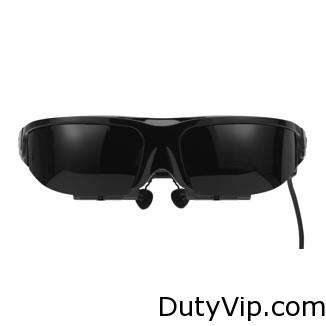 Las gafas de vídeo Vuzix Wrap 1200 incluyen un conector para el iPod, iPhone o iPad para que puedas empezar a utilizarlas de inmediato.