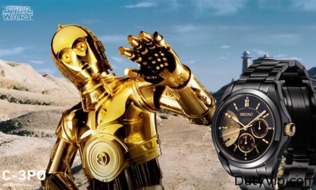 Seiko Star Wars edición limitada C3PO
