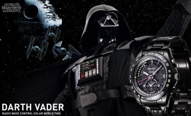 Seiko Star Wars edición Darth Vader