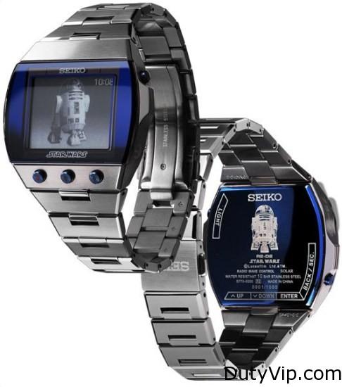 Seiko Star Wars edición limitada R2-D2