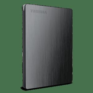 Toshiba 500GB Canvio® Slim Portable External Hard Drive