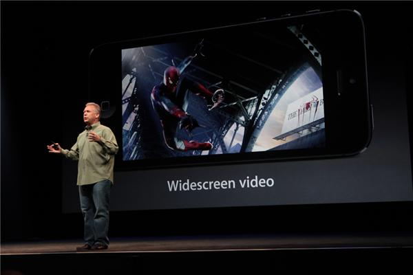 Iphone 5 - Widescreen video