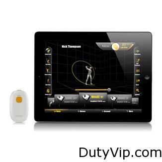 Un sensor de alta tecnología para practicar golf que te ayudará a perfeccionar tu swing y a mejorar tu técnica.