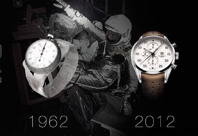 TAG Heuer celebra del 50º aniversario del primer reloj suizo en el espacio.
