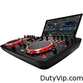 El control de pulsaciones proporciona señales visuales y feedback mediante múltiples LED en la consola de DJ.