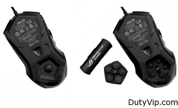 Mouse para jugones Asus RoG GX1000