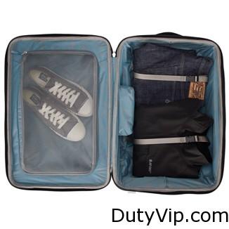 Muévete con total libertad en tus viajes: tira de tu bolsa con ruedas o transpórtala a modo de mochila.
