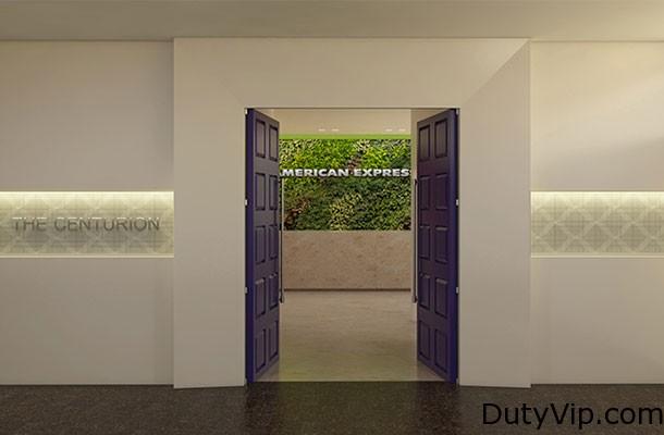 Salón Centurion de American Express en Buenos Aires