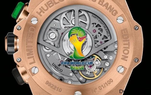 Relojes de lujo del Mundial de fútbol 2014