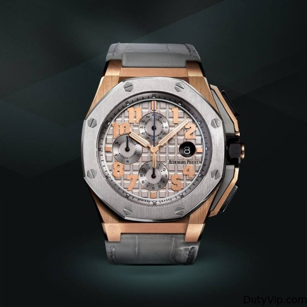 CLOSE UP AL AUDEMARS PIGUET ROYAL OAK LEBRON JAMES