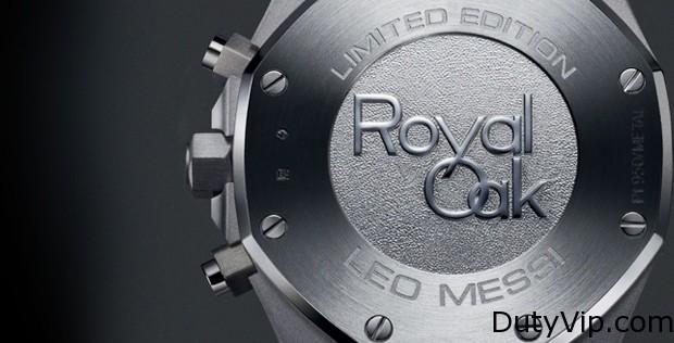Royal OK, Leo Messi, Edición limitada a 100 piezas.