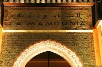 Entrada principal al Hotel La Mamounia en Morocco