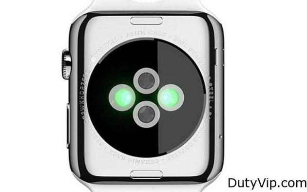 Imagen posterior Apple Watch, ideal para tomar las pulsaciones de nuestra muñeca