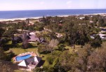 Vista aérea al rio Hotel L'Auberge