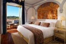 Hermosa vista desde la habitación en The St. Regis Florence