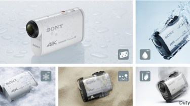 Action Cam X1000V 4K Sony