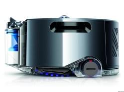 La marca de lujo Dyson debuta su primera aspiradora robot, la 360 Eye