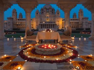 Celebraciones en Umaid Bhawan Palacio