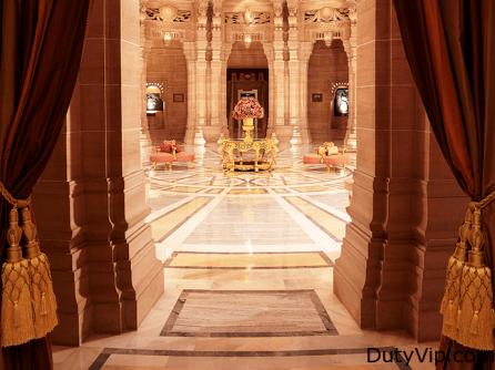 Lobby del Umaid Bhawan Palacio