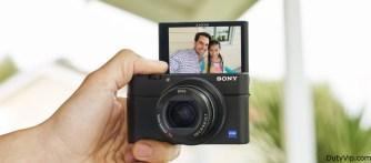 Control flexible Sony Cyber-Shot RX100 IV