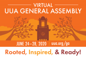 UUA General Assembly 2020 logo