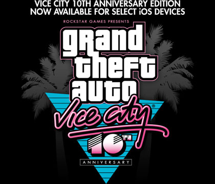GTA Vice City 10th Anniversary Edition now available for iOS