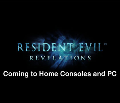 Resident Evil Revelations coming to home consoles