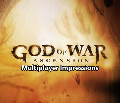God of War Ascension Beta Impressions