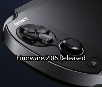 PS Vita firmware 2.06 released