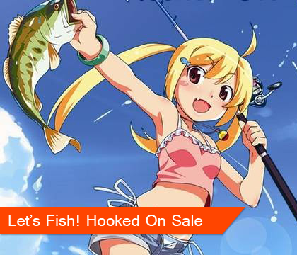 Let's Fish! Hooked On on sale for PS Plus subscribers