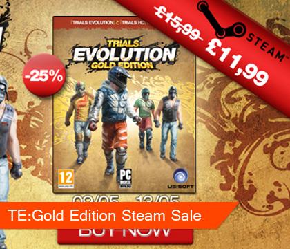 Trials Evolution: Gold Edition Steam Sale
