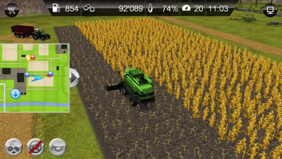 Farming Simulator - Harvesting
