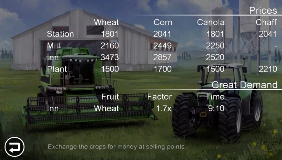 Farming Simulator - Prices