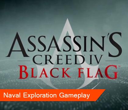 Assassin's Creed IV Black Flag Naval Exploration Gameplay